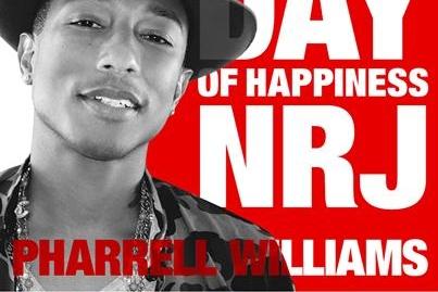 Participez au HAPPY BUS cette après-midi pour faire la promo du dernier album de PHARRELL WILLIAMS