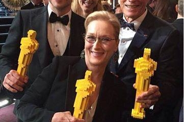 Neil Patrick Harris l'acteur déjanté a présenté le palmarès de la 87e cérémonie des Oscars en slip!