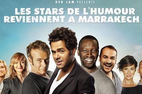 Le Marrakech du rire revient du 6 au 10 juin 2012 !