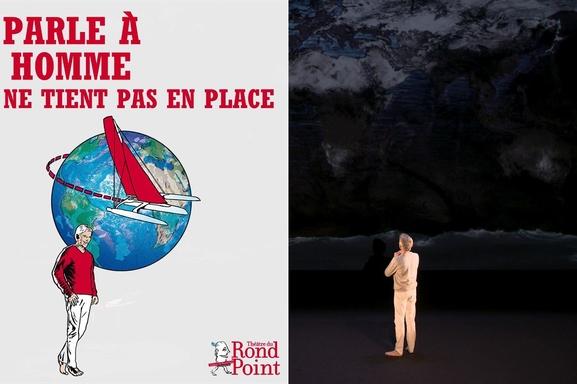 """""""Je parle à un homme qui ne tient pas en place"""" de Jacques Gamblin au Théâtre du Rond Point"""