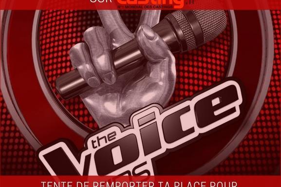 Casting.fr partenaire officiel de THE VOICE KIDS! On recherche des enfants chanteurs pour l'émission maintenant
