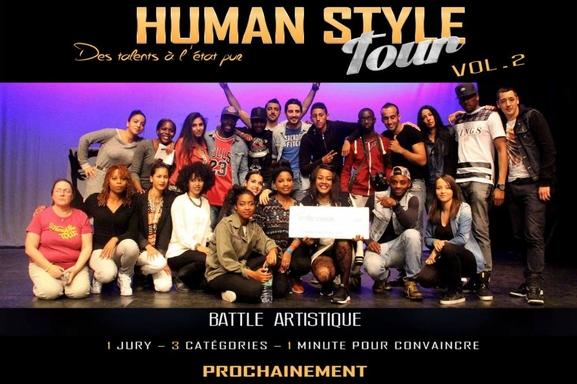Danseurs, chanteurs, humoristes : le concours Human Style Tour vol2 est fait pour vous !