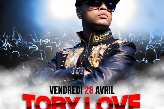 Toby Love à Paris ce vendredi, on vous invite au Roméo Club pour une soirée Latino! Demandez vos places.