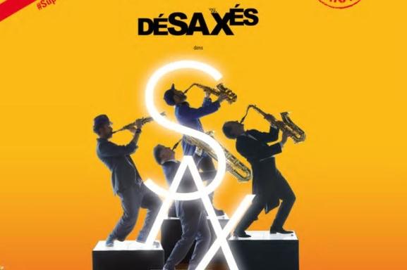 Découvrez les Désaxés, virtuoses du saxo, dans leur dernier spectacle Sax au théâtre de l'Alhambra