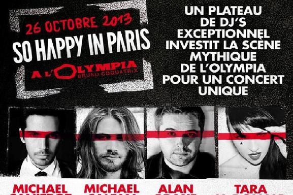 """""""So Happy in Paris"""" LA soirée clubbing à ne pas manquer avec Michael Canitrot et Michael Calfan à L'OLympia"""
