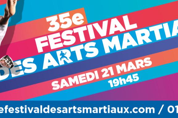 Découvrez la technique ancestrale des arts martiaux avec Casting.fr et le Festival des Arts Martiaux à l'AccorHotels Arena