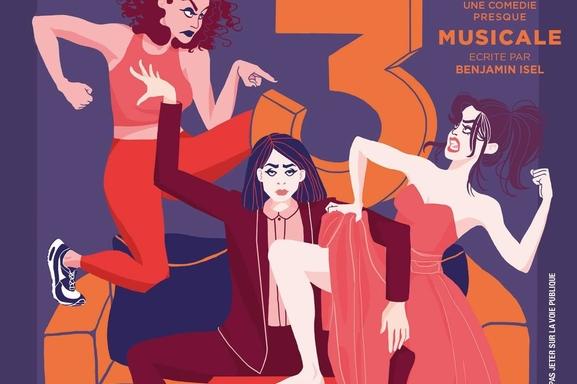 """""""Un toit pour trois"""", une pièce de théâtre musicale aux allures burlesques"""
