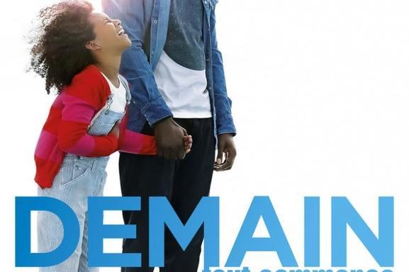"""""""Demain tout commence"""" le nouveau film d'Hugo Gelin avec Omar Sy dans vos salles dès le 7 décembre!"""