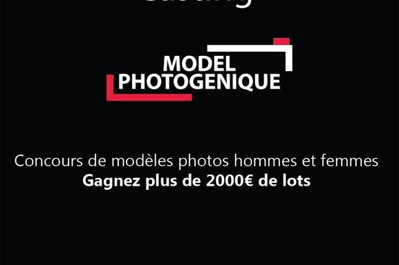 Model photogénique lance son grand concours !