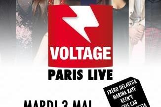 Profitez du concert Voltage Paris Live avec Fréro Delavga, Marina Kaye, Julian Perretta et bien d'autres