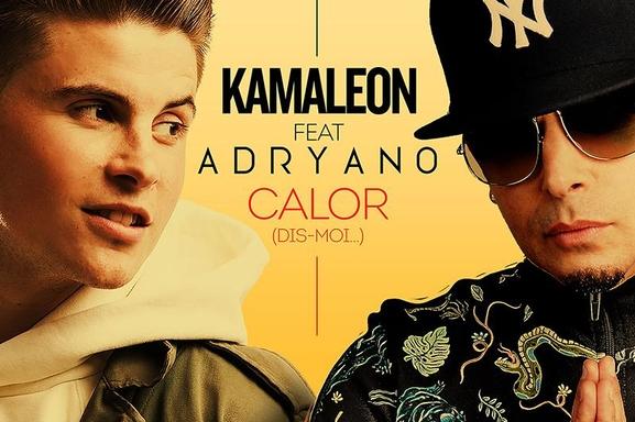 """Rencontrez Adryano et Kamaleon le 20 décembre 2018 à l'occasion de la sortie du clip de """"Calor (Dis-moi…)"""""""