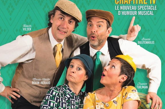 """Le spectacle musical humoristique """"The Barber Shop Quartet"""" revient avec le """"Chapitre 4"""" !"""