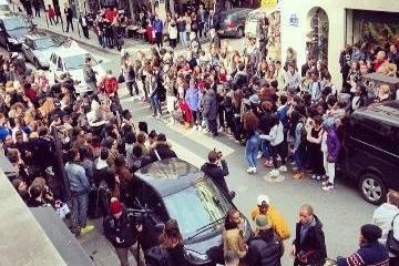 Drake était chez Colette à Paris pour présenter sa collection de vêtements