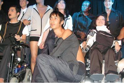"""Défilé de mode """"Mode&Handicap"""" à la Cité de la mode et du Design"""