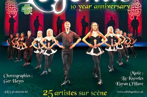 Celtic Legends à Paris le 11 Novembre !