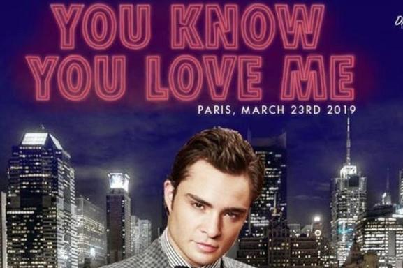 """""""You Know You love me"""" la convention Gossip Girl à Paris ! Rencontrez vos personnages de l' Upper East Side"""