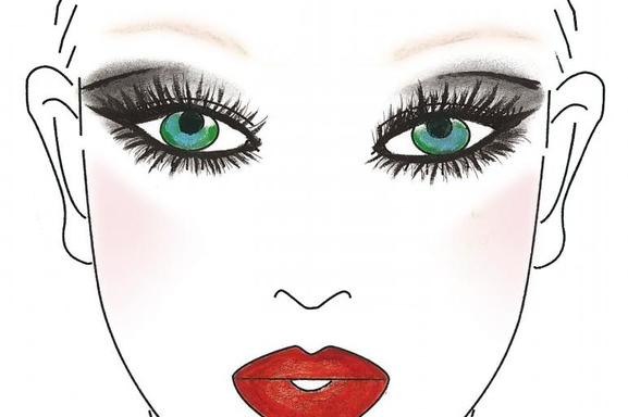 Gina Brooke à crée la teinte officielle Make Up For Ever pour Madonna !