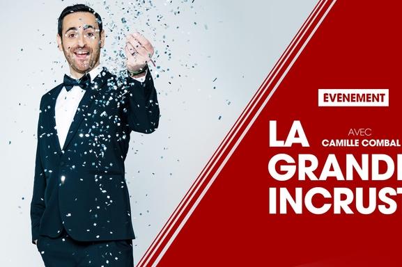 Camille Combal ce 26 décembre dans La Grande Incruste, restez branché sur TF1!