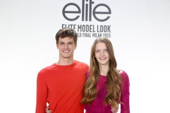 """Le lyonnais Tristan remporte avec brillance le concours """"Elite Model Look 2015"""""""