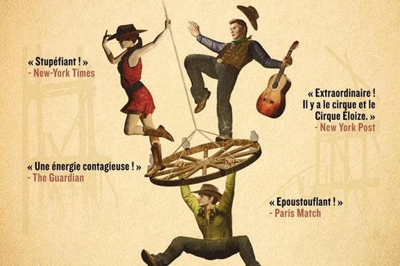 """Le """"Cirque Eloize"""" présente sa nouvelle création """"Saloon"""" inspirée du Far West Américain au 13ème Art Théâtre!"""