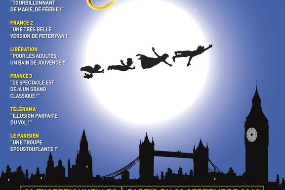 Le spectacle musical de « Peter Pan » est de retour au théâtre Bobino