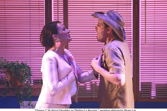 """La comédie musicale """"Chance""""de Hervé Devolder revient au Théâtre La Bruyère pour le plus grand bonheur de tous !"""