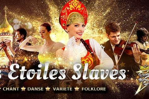 Les Etoiles Slaves, vous connaissez ? Vous êtes chanteur, danseur ou musicien Slave alors ce concours est pour vous!