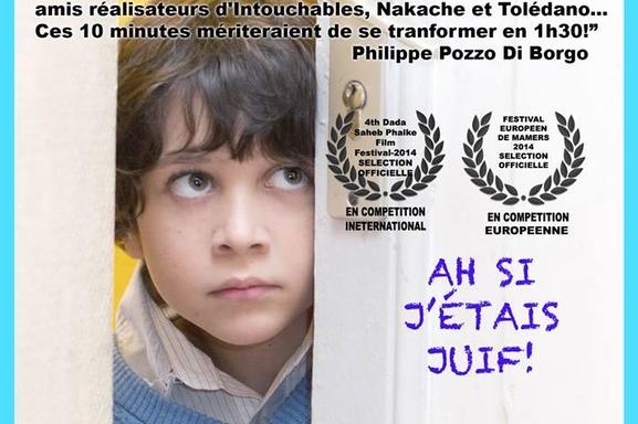 """Changez de regard avec les courts-métrages poignants et drôles """"Ah Si J'étais Juif"""" et """"Pour L'amour de Sarah"""""""