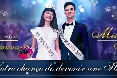 Avis aux artistes! on recrute pour le concours Miss Tsarevna et Mister Tsarevitch 2018