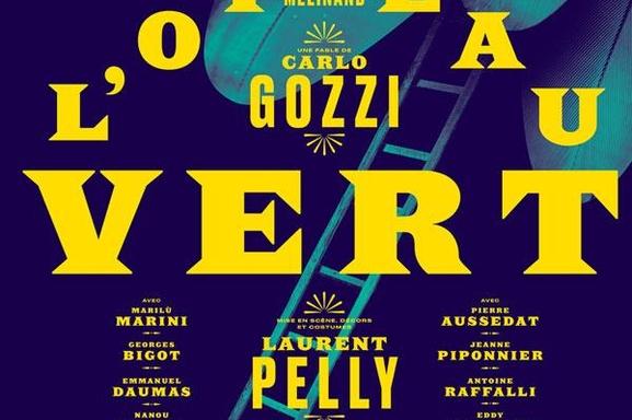 L'Oiseau Vert une comédie classique culte du 18ème siècle écrite par le célèbre Carlo Gozzi, on vous invite au Théâtre de la Porte Saint Martin dès maintenant!
