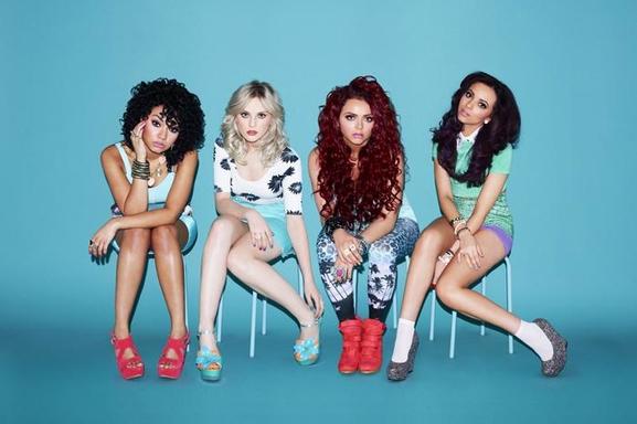 """Little Mix groupe féminin le plus pop de la Grande-Bretagne avec leur album """"DNA"""" !"""