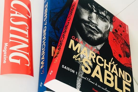Gaïa Alexa auteure de référence en romance française présente Le Marchand de sable, à lire cet été absolument