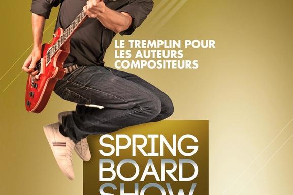 "Concours de musique ""The Spring Board Show"""