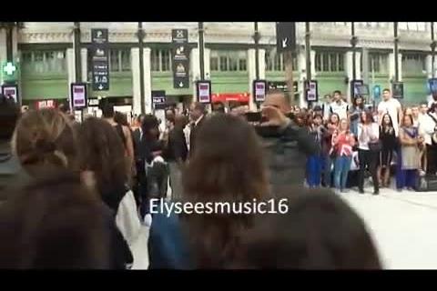 Flashmob Shy'm