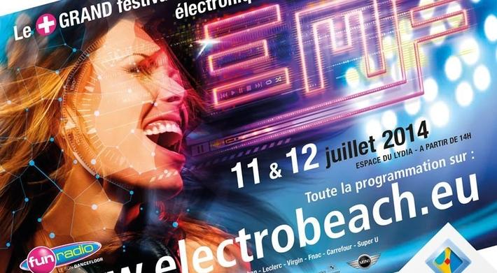 Electrobeach Festival 2014, musique électronique a l honneur à Port-Barcarès