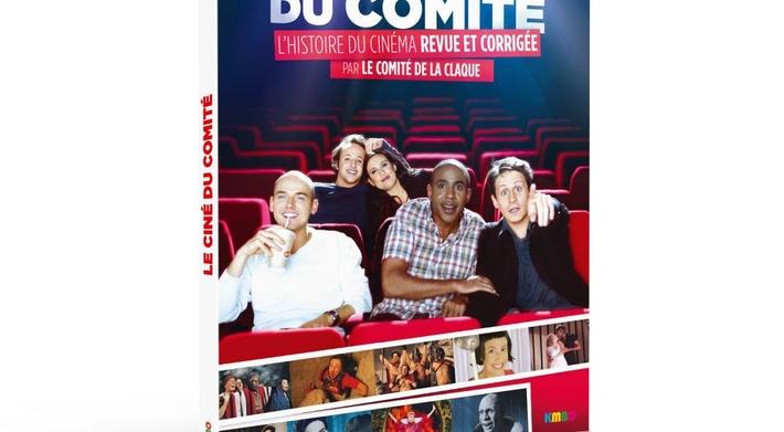 Le ciné du comité, l'histoire du cinéma revue et corrigée par le Comité de la Claque en dvd