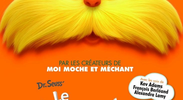 """Le film """"Le Lorax"""" en salle le 18 Juillet !"""