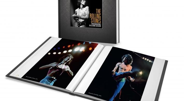 5 livres de photographies consacrés à des icônes de la musique, par Claude Gassian