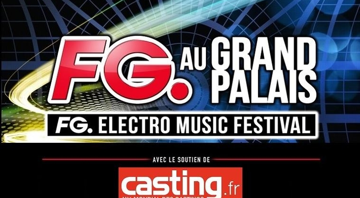 7000 clubbers, un plateau de DJs au Grand Palais à Paris? C'est le FG. ELECTRO MUSIC FESTIVAL !