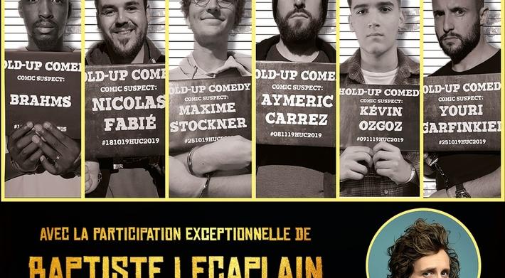 Casting.fr vous invite à la finale du Hold Up Comedy, Lundi 20 Janvier 2020 au Théâtre de l'Européen à Paris