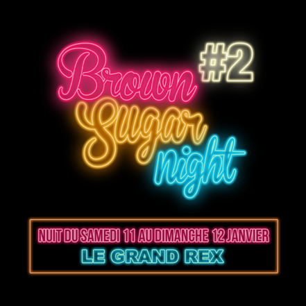 """Voir des Avant-premières au cinéma toute la nuit, ça vous tente ? Le Festival """"Brown Sugar Night"""" revient sur la grande scène mythique du Grand Rex pour sa seconde édition 2020 Brown Sugar #2 !"""