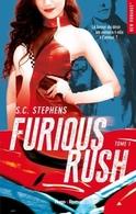 """Etre pilote de moto n'est pas chose simple lorsque l'on est une femme, c'est le nouveau roman de S. C. Stephens avec """"Furious Rush"""""""
