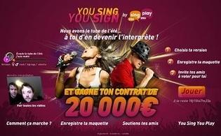 YouSing YouPlay : un site fait pour vous!