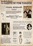 Clara Morgane vous propose un show burlesque style années 30 au Pink Paradise ce soir, on vous attend!