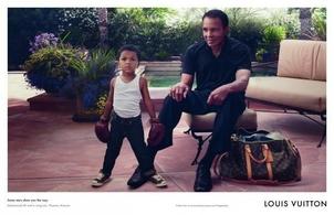 Mohamed Ali et son petit fils, nouvelles égéries de la marque Louis Vuitton