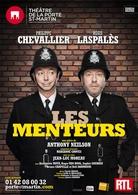 """""""Les Menteurs"""" Chevallier et Laspalés au Théâtre! Casting.fr vous invite!"""