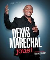 Venez jouer avec Denis Maréchal au Théâtre Trévise !