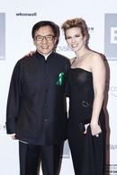 Lorie avec Jackie Chan à Beijing pour le festival international du film !