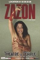 L'humour pour tous: Zazon au Théâtre Le Temple