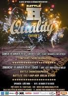 """Concours de danses urbaines """"Battle H Quality"""" c'est 6 jurés de renommée internationale, DJ et danseurs pour deux fois plus de show !"""